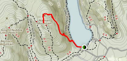 Perpendicular Trail Map