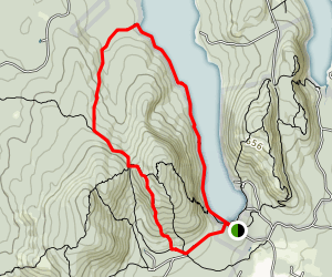 Long Pond Loop Trail Map