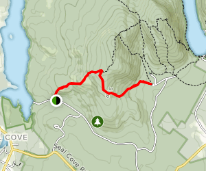 South Face Trail Map