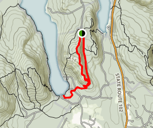 Valley and Beech South Ridge Trails Map