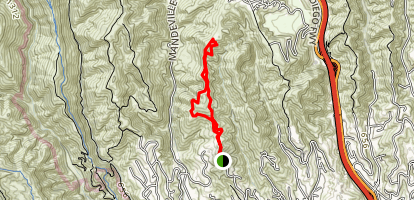 Kenter Fire Road Whoop-De-Doos Trail Map