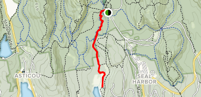 Jordan Stream Path Map