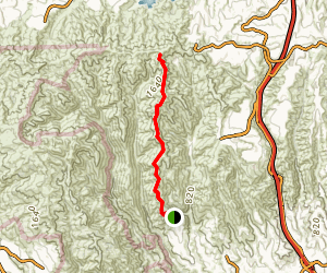 Mandeville Canyon Trail Map