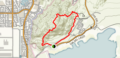 Terri Peak Trail Map
