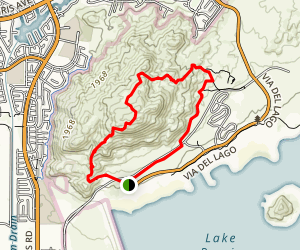 Terri Peak Loop Trail Map