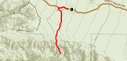 Golden Bee Mine Trail Map