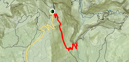 Illilouette Falls Trail Map