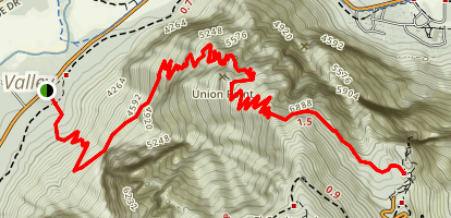 Four Mile Trail Map
