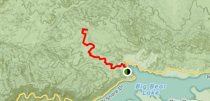 Hanna Flat Campground Trail Map