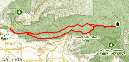 Telegraph Canyon Road Trail Map