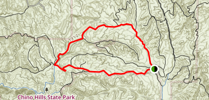 Four Corners Loop Trail Map