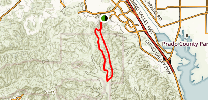 Bane Canyon Loop Trail Map
