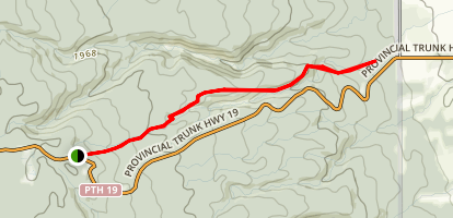 Gorge Creek Trail Map