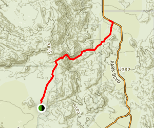 Pine City and Pine City Canyon Trail Map