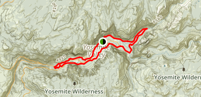 Valley Floor Loop Trail Map