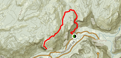 El Capitan Trail (historical) Map