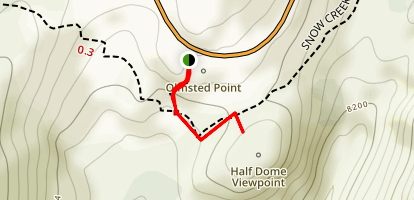 Olmsted Point Nature Trail Map