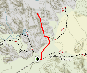 Wonderland Wash Trail Map