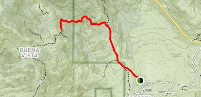 Little Nellie Falls Trail Map