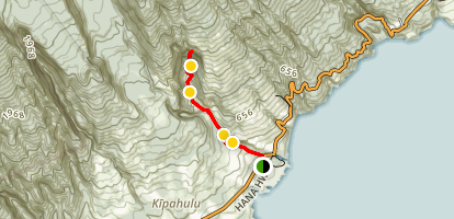 Pipiwai Trail Map