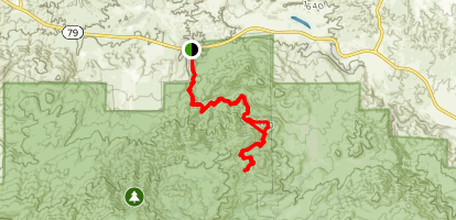 Wild Horse Trail Map