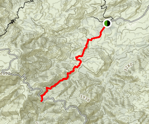 Crosley Saddle Trail Map