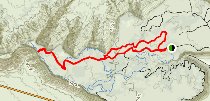White Trail Map