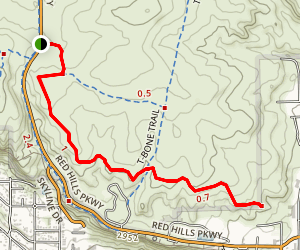 Pioneer Rim Trail Map
