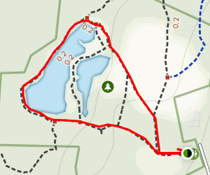 Bowers Spring Trail Map