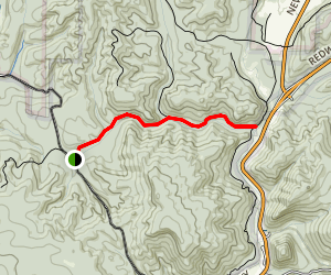 Streelow Creek Trail Map
