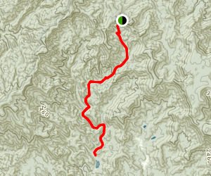 Mountaintown Creek Trail Map