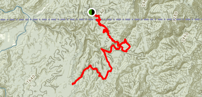 Rice Camp Trail Map