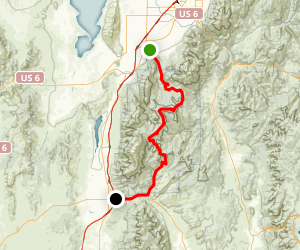 Nebo Loop National Scenic Byway Map