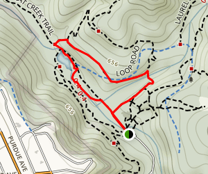Jewel Lake Loop Map