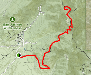 Apache Peak Trail Map