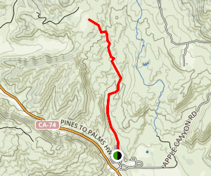 Hurkey Creek Trail Map