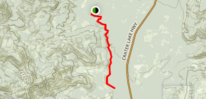Takelma Gorge Map