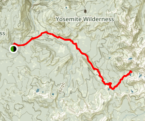 Ottoway Lakes Trail Map