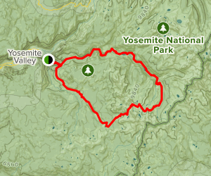 The Clark Range and Red Peak Pass Trail Map