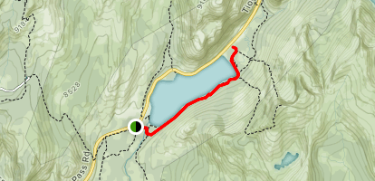 Tenaya Lake Trail Map