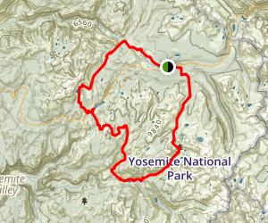 The High Sierra Camp Loop Trail Map