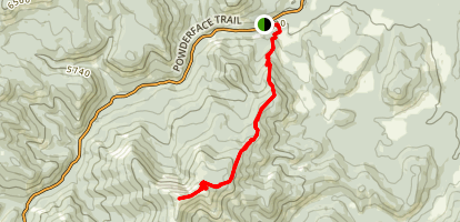 Cox Hill Ridge Map
