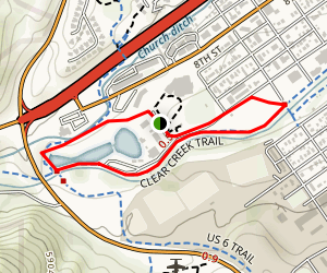 Terry Park at Clear Creek Map