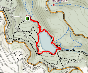 Lake Anza Trail Map