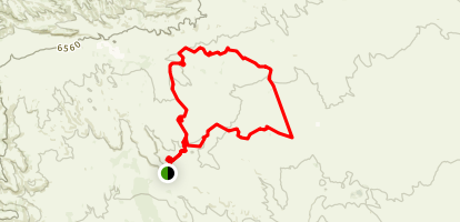 Pronghorn Loop Trail Map