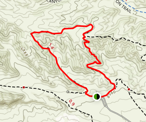 Towhee Loop Trail Map