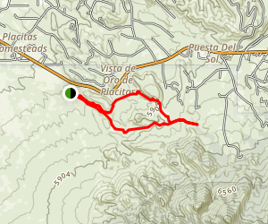 Stripmine Trail Map