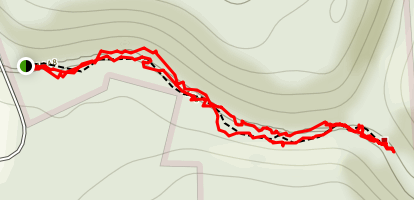 Hell's Hollow Trail Map