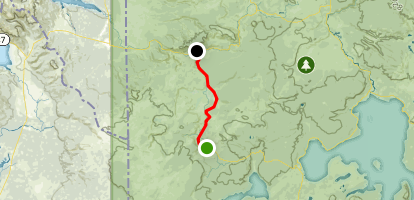 Old Faithful to Madison Junction Map