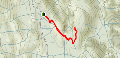 Frazier Falls Trail Map